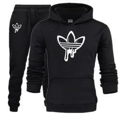 2019 New Two Pieces Hooded Sweatshirts. Adidas Tracksuit For