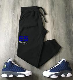 23 Legend Track Suit Black Blue Hoodie Joggers To Match Air