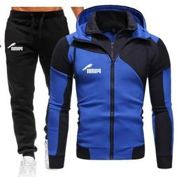 Autumn Winter Men's Sets Brand Sportswear Tracksuits 2 Piece