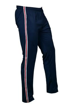 SEGA Blue Tracksuit Bottoms  with red & white stripes with F