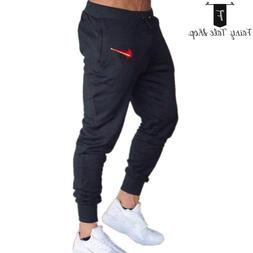 Nike Just Do it Men's New Fitness Pants Red Fire Joggers Spo