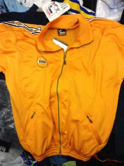 PUMA KING TRACKSUIT TOP IN  34/36 inch AT £20 POYESTER YELL