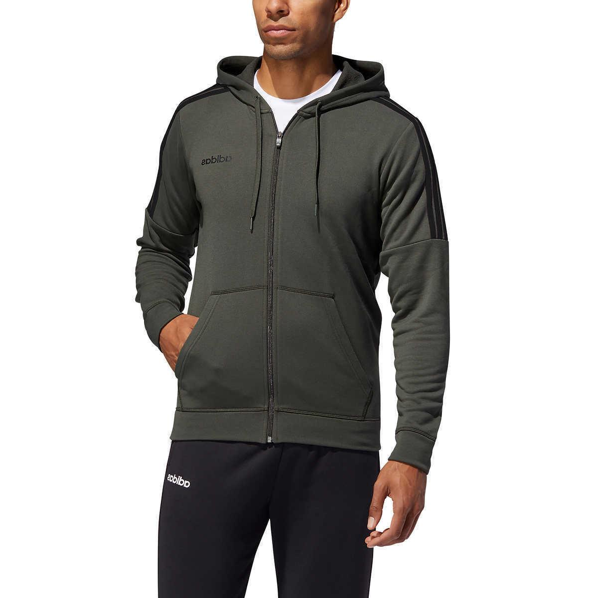 men s gym french terry tracksuit full