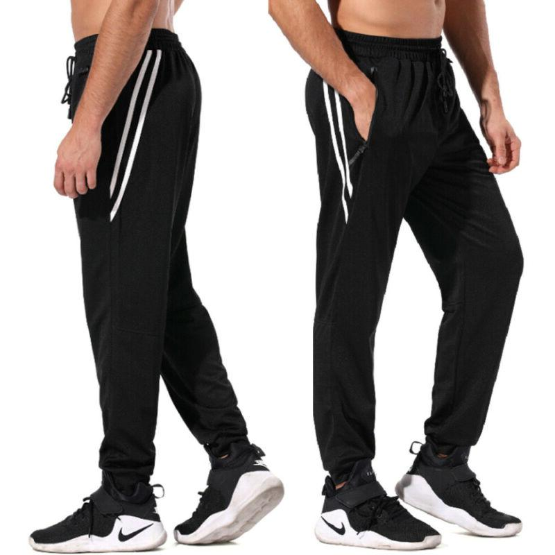 new mens tracksuit bottoms striped silky casual