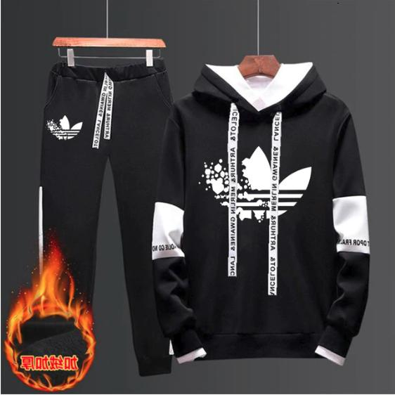 set pants and hoodie activewear tracksuit joggers