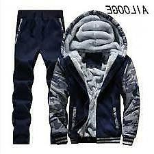 Tracksuit Men Sporting Fleece Thick Hooded Brand-Clothing Ca