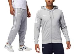 Adidas Men's Gym French Terry Tracksuit Hooded Jacket Pants
