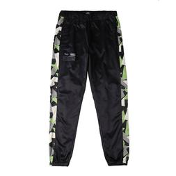 Men's Trousers Tracksuit Elastic Waist Mesh Lining Long Poly