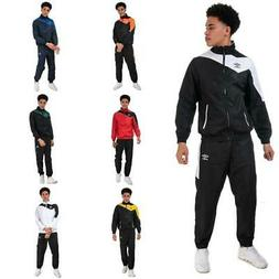 Mens Umbro Division Full Zip Polyester Lined Tracksuit