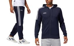 Adidas Mens Gym French Terry Tracksuit Hooded Jacket Pants B