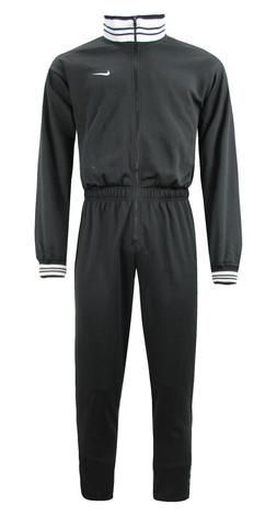 Nike Mens Training Zip Up Onepiece Bodysuit Tracksuit Black