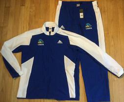 New ADIDAS baseball windbreaker tracksuit L jacket pants war