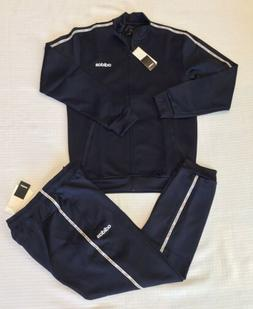 NEW MEN'S ADIDAS CELEBRATE THE 90s TRACKSUIT~NAVY/WHITE ~M