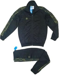 ADIDAS ORIGINALS CAMO BLACK TRACKSUIT JACKET PANTS AUTHENTIC