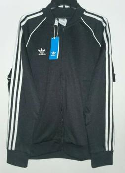 Adidas Originals Superstar Men's Track Jacket Black-White cw
