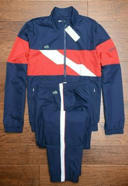 Lacoste Sport WH9538 $250 Mens Athletic Track Jacket & Pants