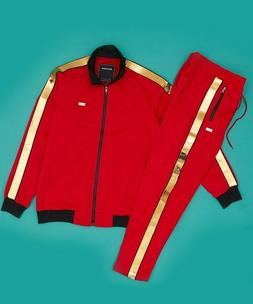 TRACK JACKET AND TRACK PANTS BY REASON CLOTHING, MADISON TRA