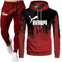 Tracksuit Men Sets Winter Hoodies Pants 2 Piece Set 2020 Run
