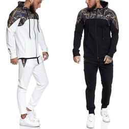 Tracksuit Tracksuit Suit Jog Sports Fitness Training Men's