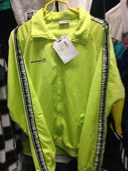 SERGIO TACCHINI TRACKSUITS TOP IN LIME GREEN AT £20 BNWL PO